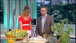 Dr  Luca La Fauci Nutrizionista Uno Mattina Estate 2013 Melanzane e zucchine