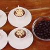 Dolce con panna e cioccolata